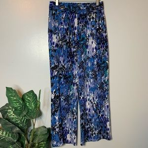 Robert Louis Button Front Flowy Pants